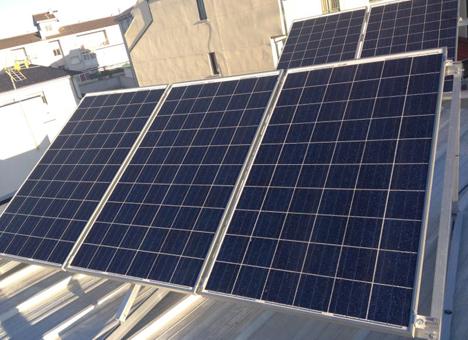 Instalación fotovoltaica de AS Solar en una vivienda de Zamora