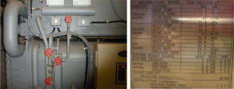 Funcionamiento de la máquina de absorción