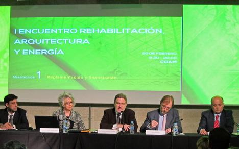 Inauguración I Encuentro rehabilitación, arquitectura y energía
