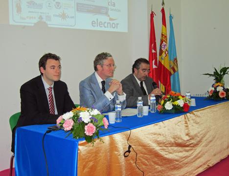 Lucio Rivas, Asesor jurídico del Ayuntamiento de El Molar, José Antonio Gismero, Concejal del Ayuntamiento de Soto del Real