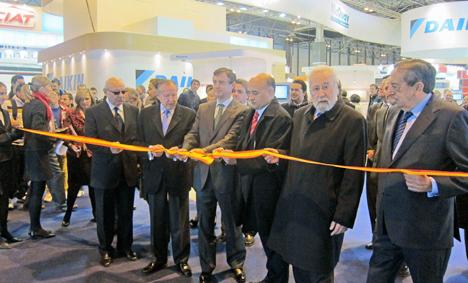Inauguración de CLIMATIZACIÓN 2013