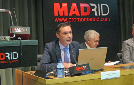 El director comercial de Remica Servicios Energéticos, Andrés Rodriguez