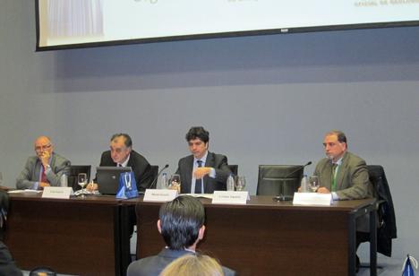 Participantes en la Jornada'Contra la crisis, geotermia y eficiencia energética'