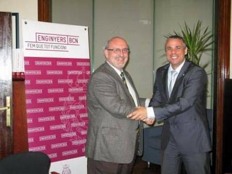 Acuerdo entre el Clúster de Eficiencia Energética de Cataluña y Colegio de Ingenieros Técnicos Industriales de Barcelona.