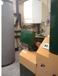 Caldera de biomasa KWB