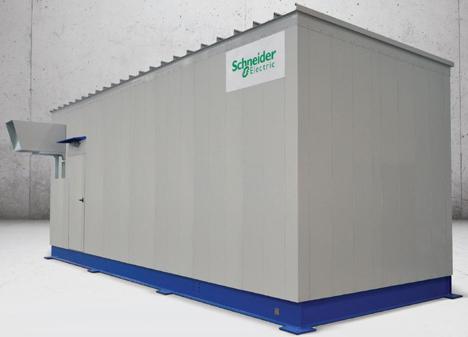 Subestaciones eléctricas prefabricadas E-house de Schneider Electric