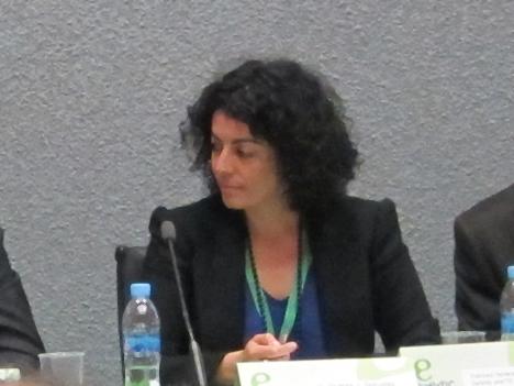 Cristina Gómez, Responsable del área de Smart Grids y Almacenamiento e del Departamento de I+D+i y Proyectos Europeos de Red Eléctrica de España (REE)
