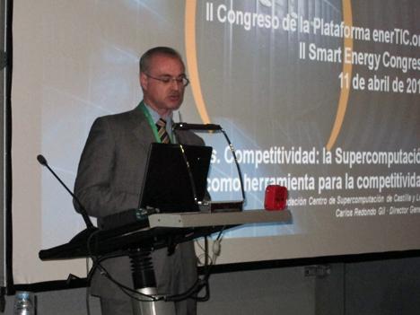 Carlos Redondo, Director General de la Fundación del Centro de Supercomputación de Castilla y León