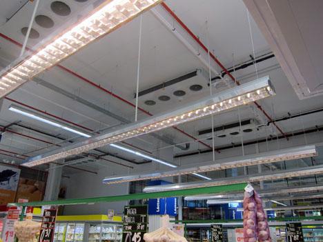 Interior del nuevo establecimiento de Makro en el Paseo Imperial de Madrid