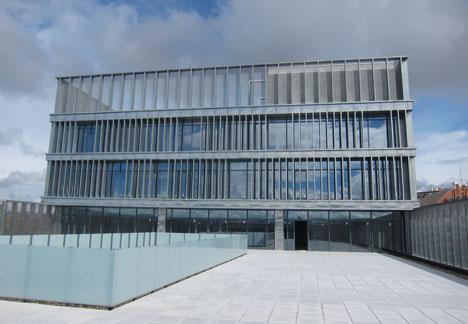 Oficinas Makro en sus instalaciones del Paseo Imperial de Madrid