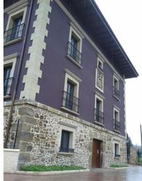 Fachada del Palacio San Cristobal