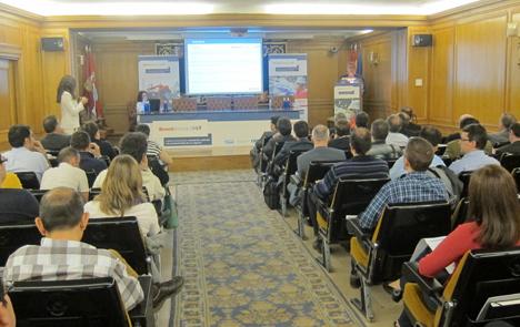 Asistentes a la jornada 'Calderas Industriales: Innovación aplicada a la productividad de su negocio'