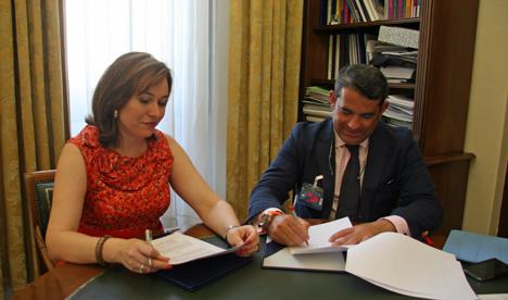 Acuerdo de colaboración entre Greencities & Sostenibilidad y el Colegio Territorial de Administradores de Fincas de Málaga y Melilla