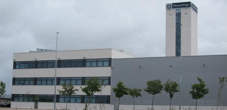 Fábrica de ThyssenKrupp en Móstoles