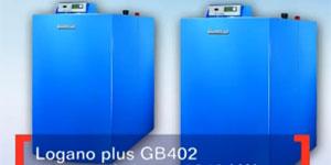 Vídeo presentación de la caldera Logano Plus GB 402