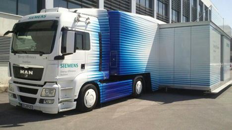 Camión Eficiencia Energética Siemens