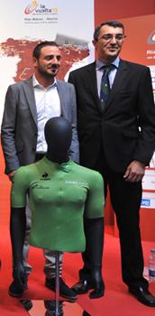 Patrocinio de Ambilamp del maillot verde de la Vuelta Ciclista a España 2013
