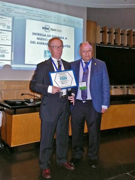 Rafael Ros, sedical y Enrique Yotti, Ashrae