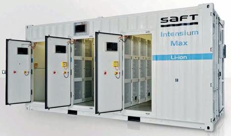 Tecnología Li-ion de Saft Baterías