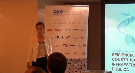 Marta Arias, directora de eficiencia energética de la unidad de energía de Indra.