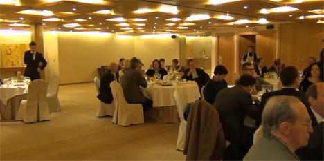 Asistentes al desayuno técnico organizado por ABB