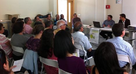 El Ayuntamiento de Valladolid  y AVEBIOM explican las ventajas de usar biomasa en las comunidades de vecinos