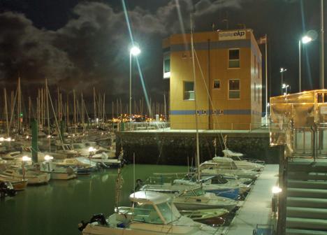 Ilumación inteligente en el Puerto deportivo de Hondarribia
