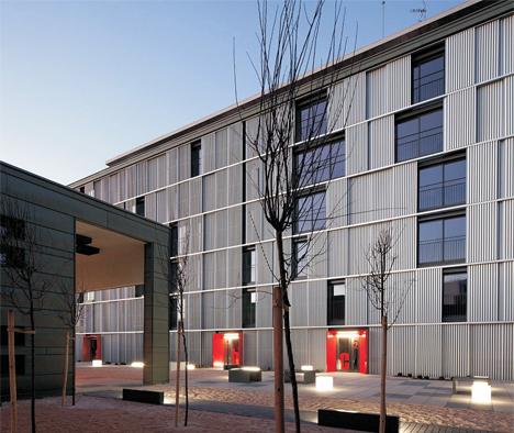 Barajas I y II, edificios con calificación energética A, EMVS