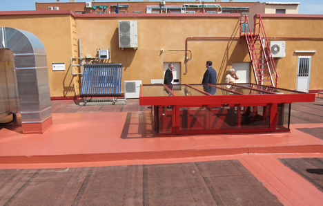 Sistema fotovoltaico en la Escuela Universitaria de Ingeniería Técnica Industrial de la Universidad Politécnica de Madrid
