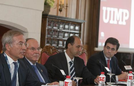 Jornada inaugural de los cursos de verano de la Universidad Internacional Menéndez Pelayo