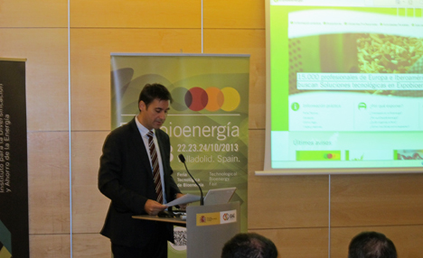 Pablo Gosálvez, responsable de proyectos de Biomasa Térmica de AVEBIOM