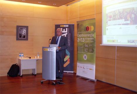 Javier Díaz, presidente de Expobioenergía