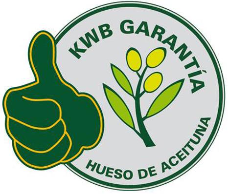 Logo garantía hueso de aceituna