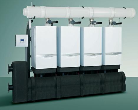 Calderas de condensación de alta potencia ecoTEC plus de Vaillant