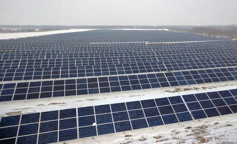 Proyecto fotovoltaico en Rumanía de Schneider Electric.