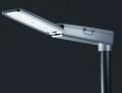 Luminaria LED de Hella empleada para la iluminación de carreteras y autopistas