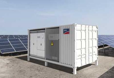 MV Power Station de SMA Solar Technology