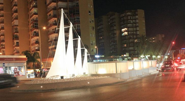 iluminacion plaza