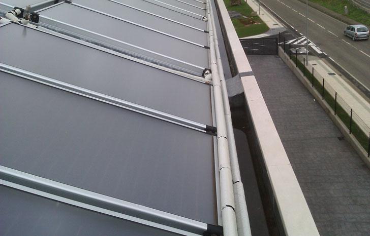 Placas solares residencia