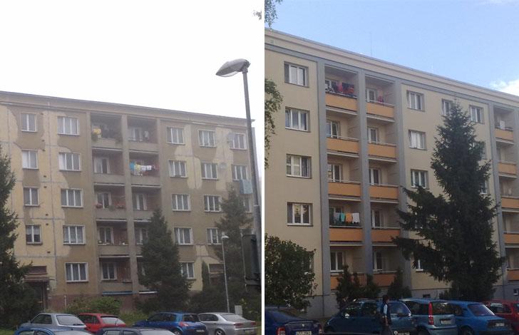 Edificio comparativa