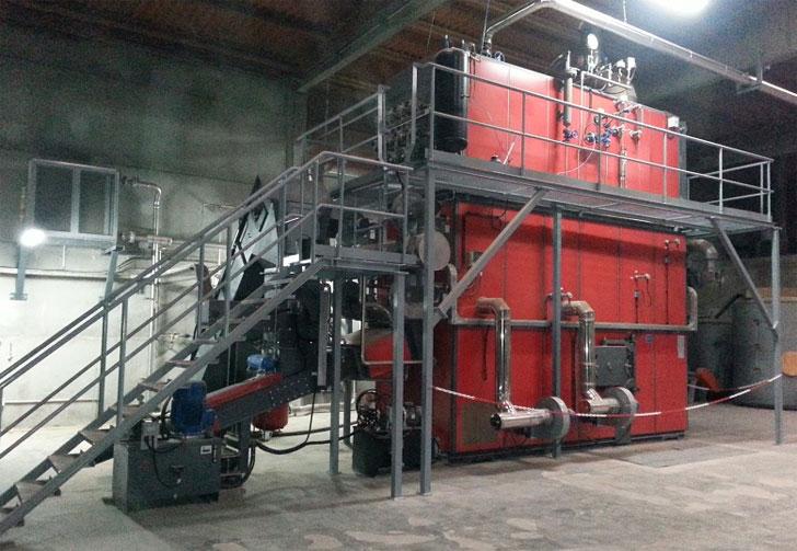 Equipo de biomasa
