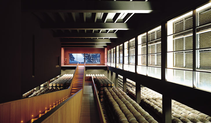 Interior de las Bodegas