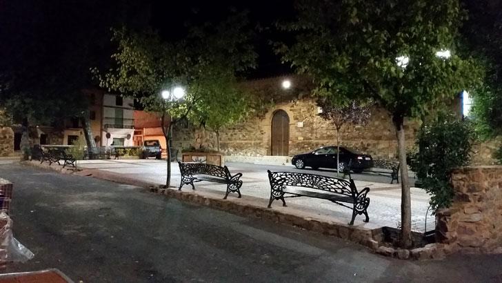 Iluminación LED en Solana del Pino
