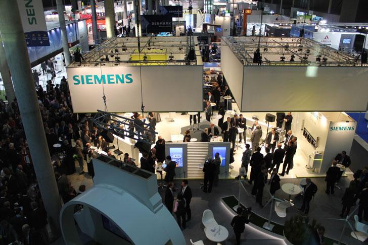 Stand de Siemens