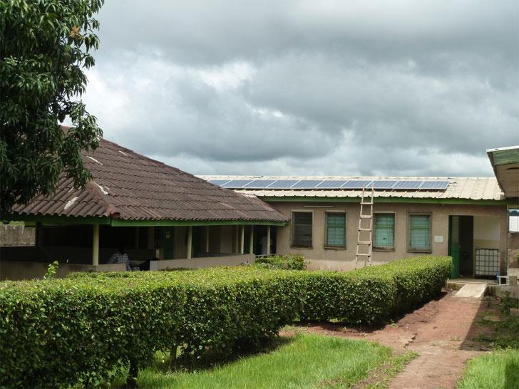 Instalación fotovoltaica en Costa de Marfil