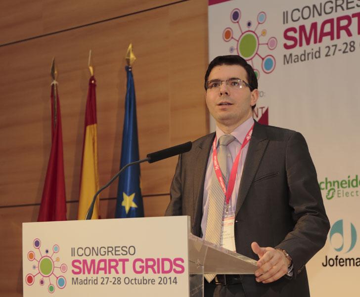 Ángel Silos en el II Congreso Smart Grids