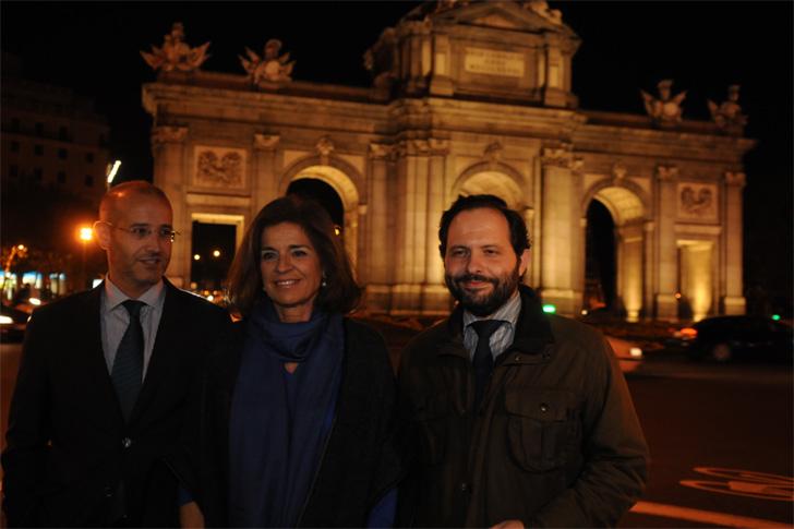 Iluminación Puerta de Alcalá