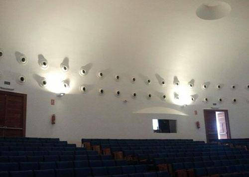 Climatización del Salón de actos del colegio San Cayetano