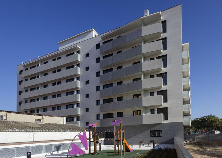 Bloque de viviendas de L'Hospitalet