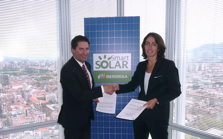 Firma del acuerdo entre Ingeteam e Iberdrola.